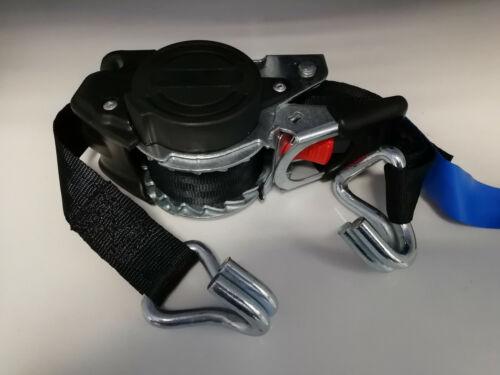 Automatik Spanngurt LC 300 600 daN 3 Meter 25mm selbstaufrollend Zurrgurt 3m
