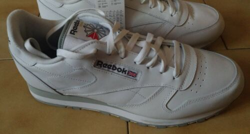 Classic Reebok 45 N Leither Bianche 67R1qndO