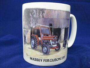 MASSEY-FERGUSON-135-VINTAGE-TRACTOR-WTH-CAB-MUG