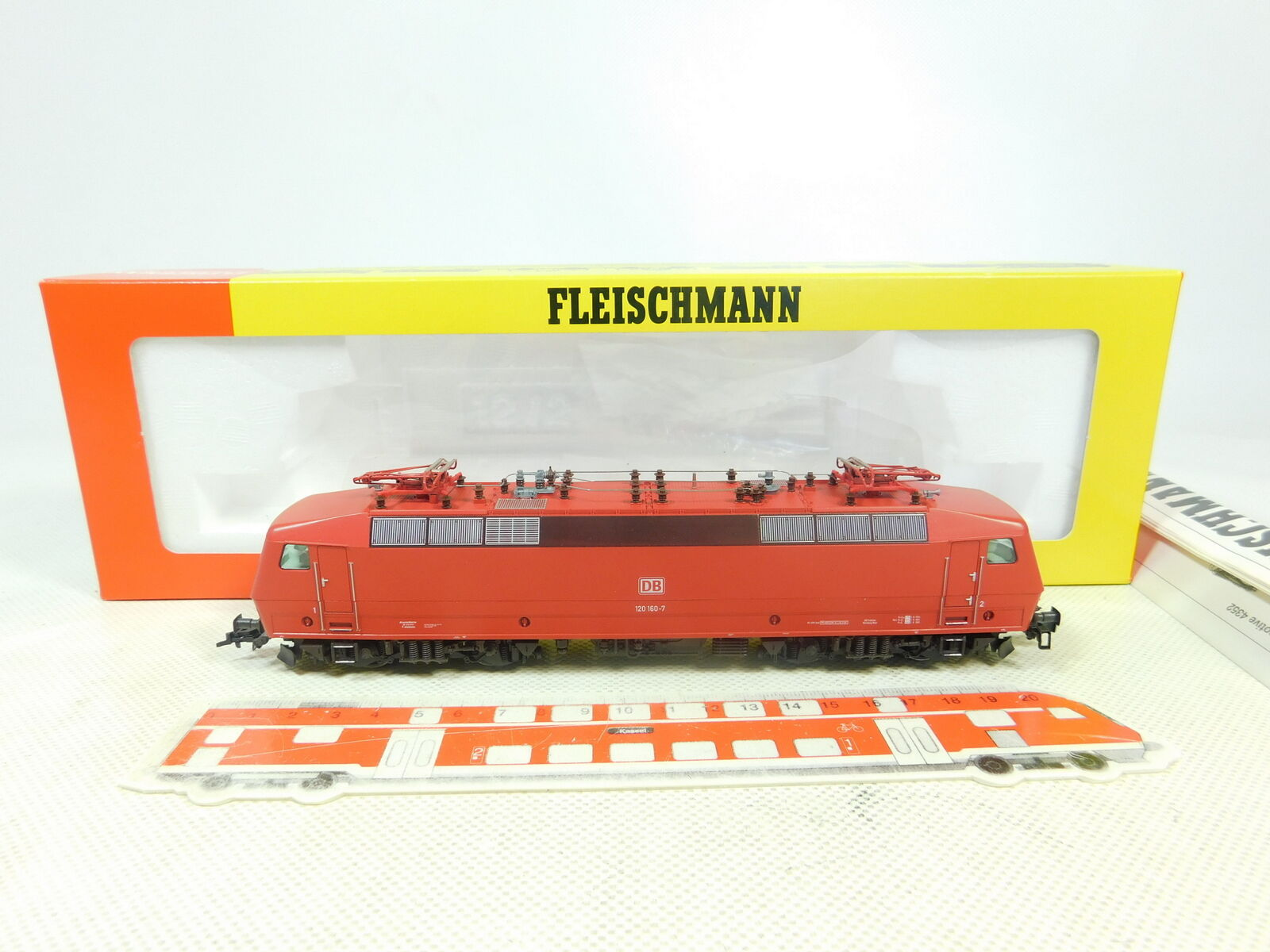 Fleischmann bt117-1h0 dc 4352 Electric Locomotive Locomotive 120 160-7