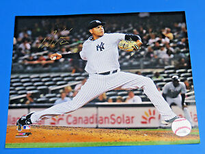 DELLIN-BETANCES-SIGNED-8X10-PHOTO-NY-YANKEES-ALL-STAR-FLAME-THROWER-Autograph