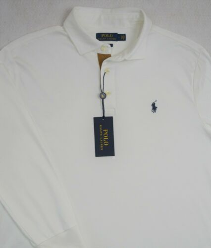 Polo Ralph Lauren Shirt Long Sleeves Soft Touch White Size L /& XL NWT $95
