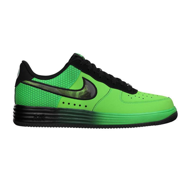 Hombre Force Nike Lunar Force Hombre 1 Cuero Verde Zapatillas 580383 300 7e23f2