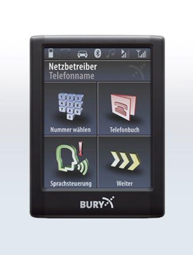 Bury cc9068 manos libres Bluetooth modelos Opel a partir de 2004 con Quadlock
