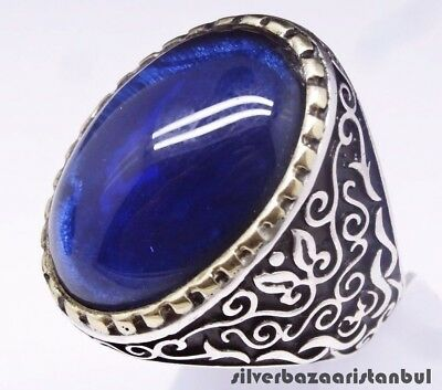 Sizable Gorgeous Black Onyx Sterling Silver Overlay 8 Grams Ring Size 7.75 US