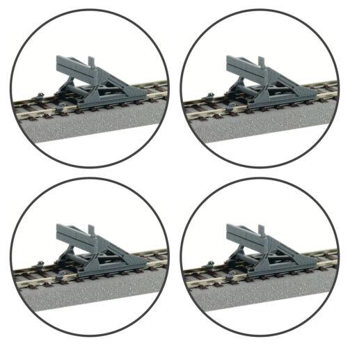 NEU + 4 Stück + Roco 42608 H0 Prellbock aus Startset