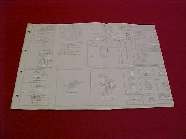 1985 Ford Bronco Original Electrical Wiring Diagram Schematics Service Manual 85