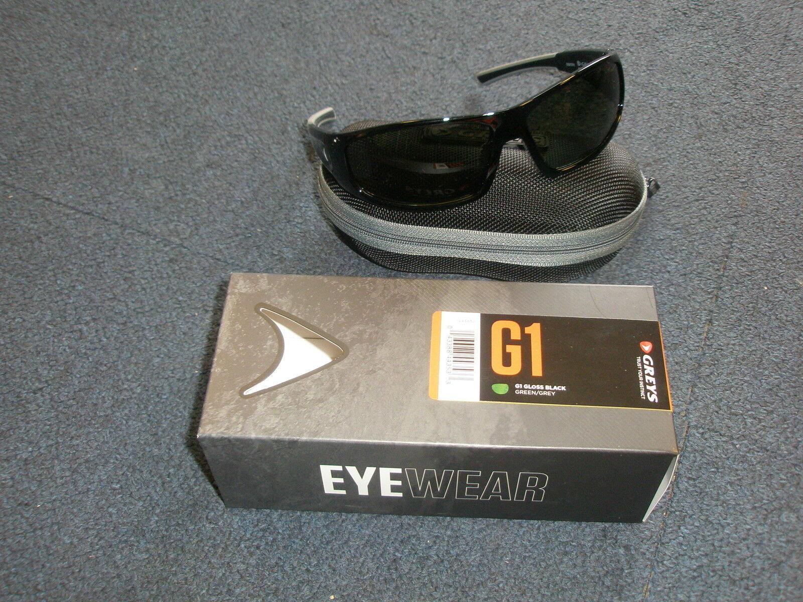 Greys Polarised Sunglasses + Case ALL VARIETIES