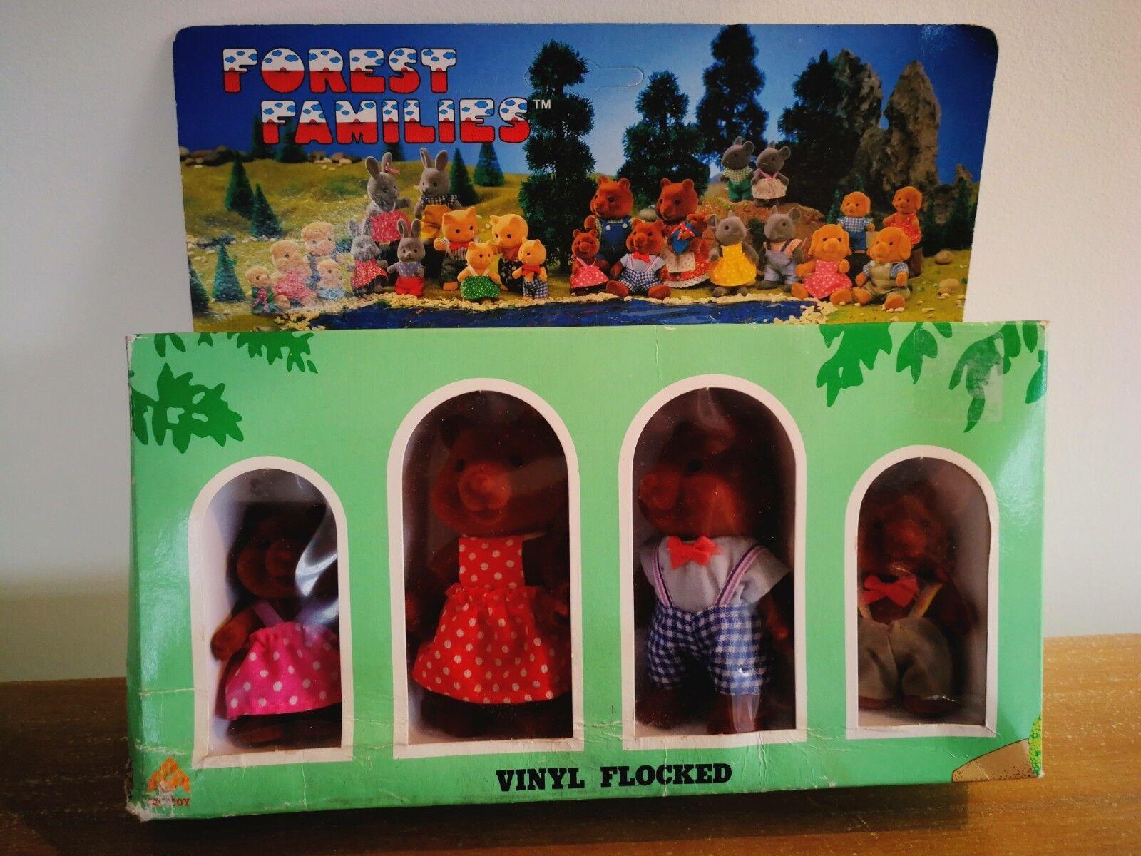 Le famiglie della Foresta/baerenwald serie di giocattoli-Bear Family