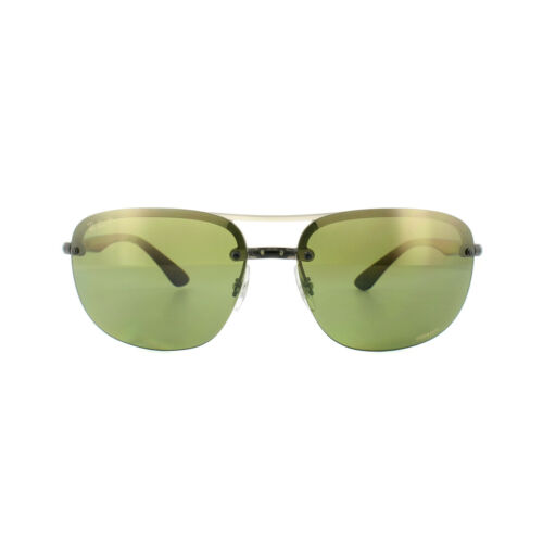 ban Green 876 Chromance Polarized Mirror Grey 4275ch de Black Ray soleil 6o Lunettes Xqwtv1Tc