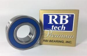 RB TECH C3 Ball Bearing 20x42x12mm RBI 6004 2RS//6004-ZZ Premium