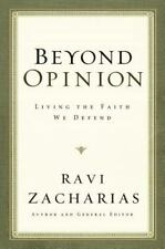 Beyond Opinion, Ravi Zacharias, Good Condition, Book