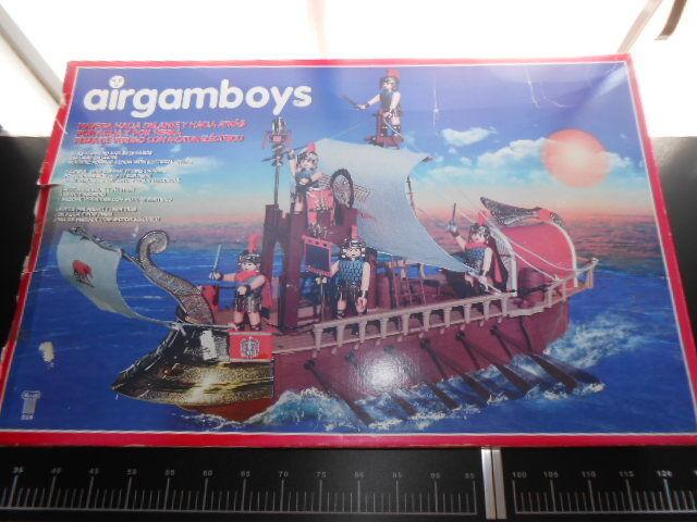 Nave Veliero Romani PLAY BIG AIRGAM BOYS Airgamboys Playmobil Con Con Con Motore 8272ab
