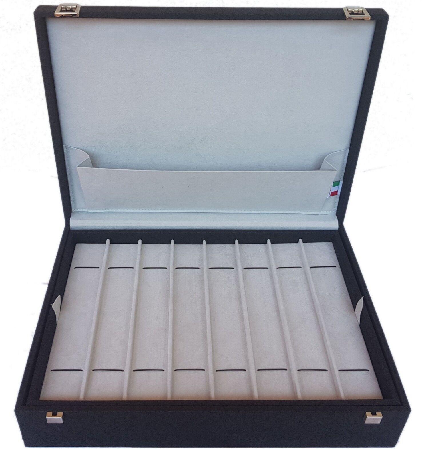Portaorologi Portaorologi Portaorologi Campione Collections Cofanetto per 15 orologi Box distesi Scatola c2bdc5