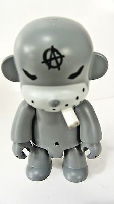 "keychain Smash The State BLACK CAT Smoking ANARQEE Frank Kozik 2.5/"" figure"