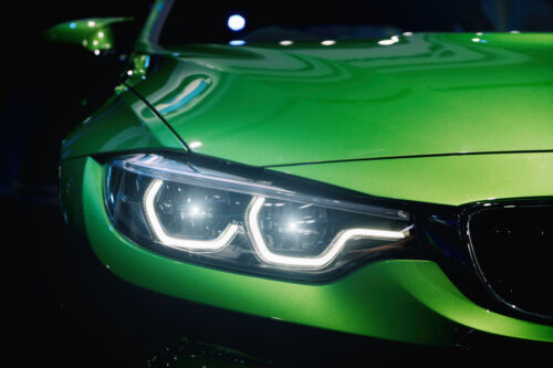 LED Angel Eyes BMW E60 E61 LCI Facelift ohne Xenon 6 Watt weiß STANDLICHT CORONA
