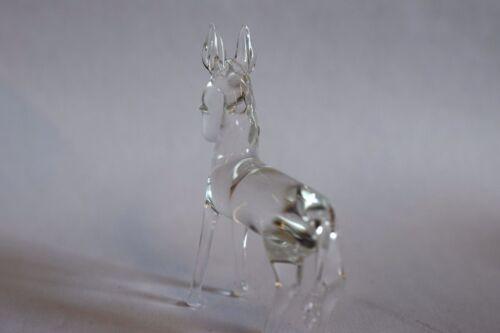 Donkey  Handblown glass