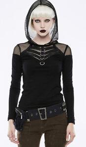 Ceinture steampunk gothique punk pochette sac rivets balles strass Punkrave Noir