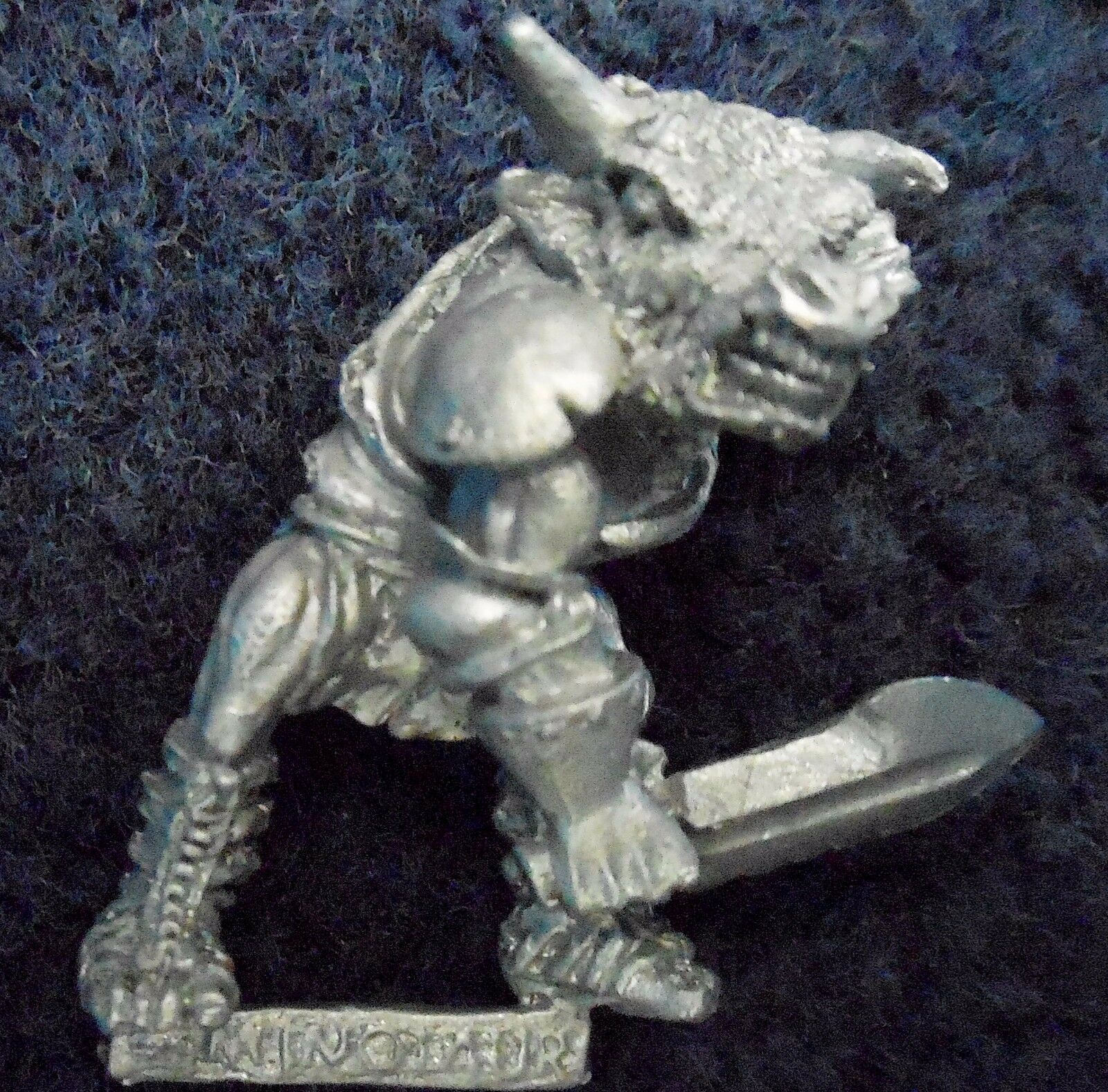 1986 Chaos Beastman Minotaur C25 Redeye Swordbreaker Citadel Warhammer Beastmen