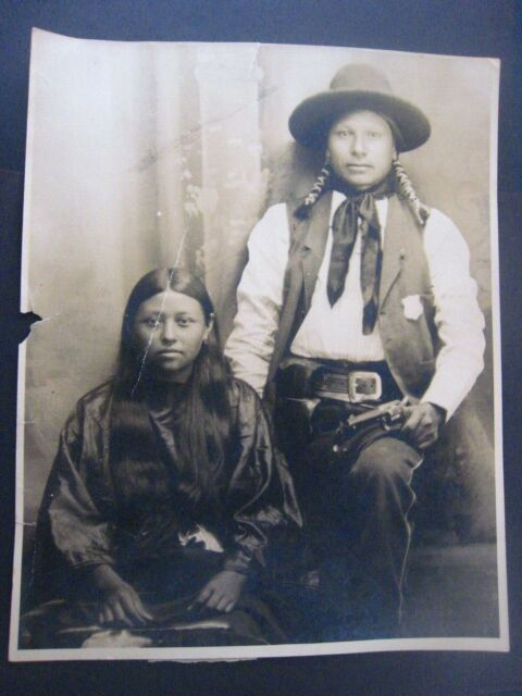 Indian Captive Arizona Olive Oatman Historic Photo Print