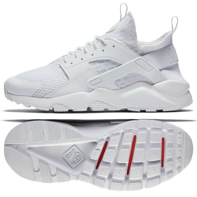 0ef294d0fbf9c NEW Nike Air Huarache Run Ultra BR Breathe Mens 11 Shoes Triple White  833147-100