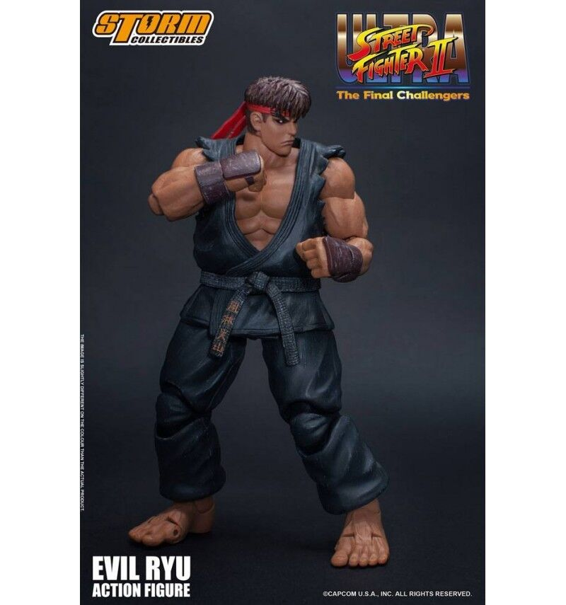 Storm Storm Storm Collectibles - Ultra Street Fighter II   The Final Challengers - Evil Ryu b57fe8