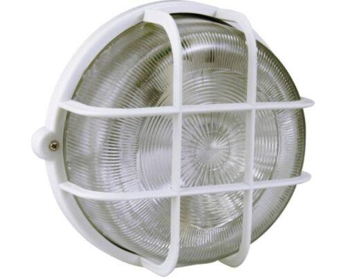 IP44 weiß Wandleuchte Deckenleuchte Kellerlampe Ovalleuchte Rundleuchte EEK A+