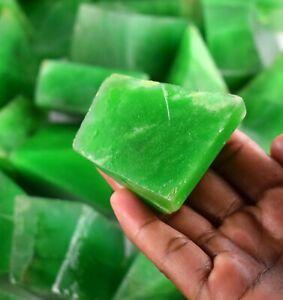 Gemstone Polished Rough 5000 Ct Zambian Green Emerald Lot Natural
