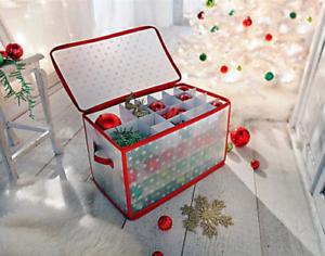 Box Christbaumkugeln.Details Zu Aufbewahrungsbox Christbaumkugeln Weihnachtskugeln Organizer Box Baum Kugeln
