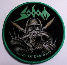 SODOM LORD OF DEPRAVITY WOVEN PATCH