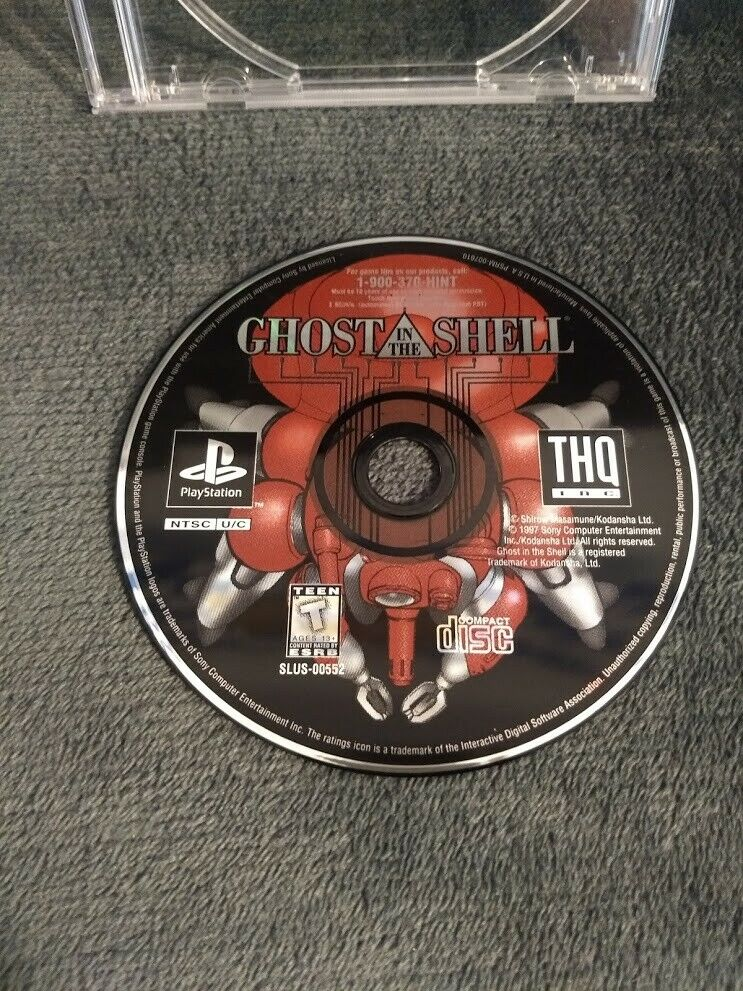 Ghost In The Shell Sony Playstation 1 1997 For Sale Online Ebay