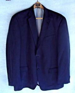 Michael-Kors-Mens-Size-44R-Suit-Jacket-2-Button-Coat-Gray-Black-Blue-Classic-fit