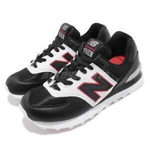 New Balance ML574DSA D Disney Black White Red Men Running Shoe ... 841f2581d