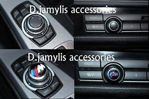 2x-29mm-amp-11mm-Bmw-M-Sport-Multimedia-Button-Volume-i-Drive-Logo-Sticker-Badge