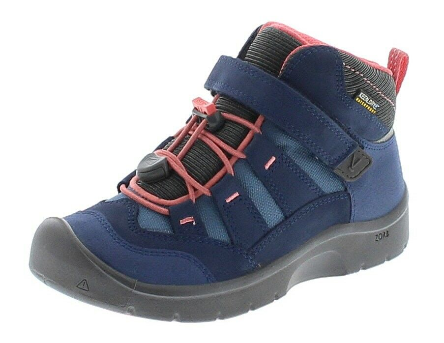 Keen 1018006 Hikeport MID WP Dress Blaus Sugar Coral  Kinder Wanderstiefel Blau