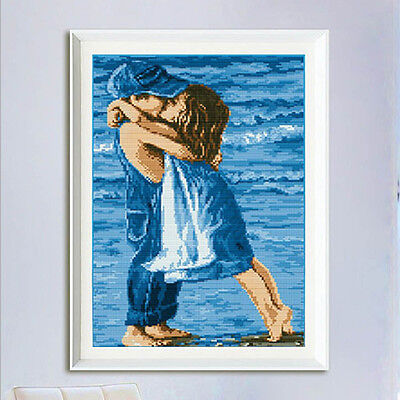 DIY Precise Printed Sea Childhood Cross Stitch Kit Embroidery Home Decor R0Q2