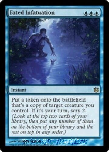 FATED INFATUATION Born of the Gods MTG Blue Instant RARE
