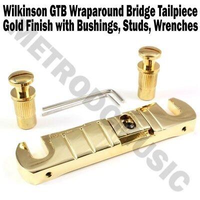 Wilkinson Gtb Wraparound Bridge Tailpiece Gold Stop Tail Guitar Korea New 685646949946 Ebay