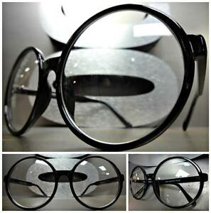 c8ae11d774 Image is loading OVERSIZE-VINTAGE-Style-Clear-Lens-EYE-GLASSES-Large-