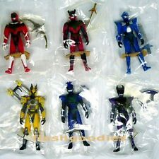 "Gransazers 3.5"" Mini Action Figure SET of 6 Konami Japan 2003 Sazer-Tarious etc"