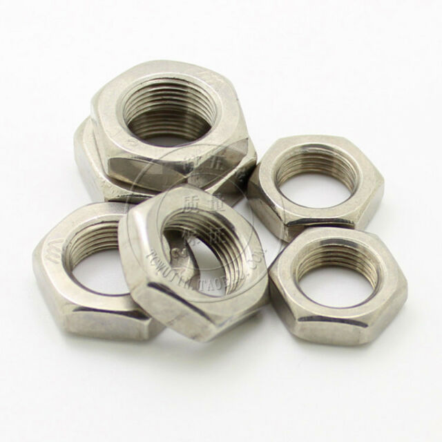 CHOOSE SIZE M5 M6 M8 A2 Stainless Steel Castle Slotted Nuts Din 935