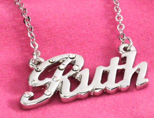 18K Gold PlatedBirthday Christmas Unique Wedding Gifts Name Necklace RUTH