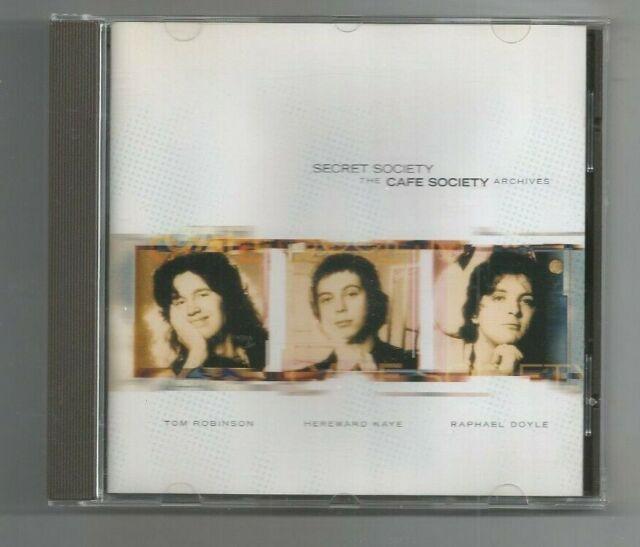 CAFE SOCIETY CD Archives Secret Society from 1976 18tks Tom Robinson Ray Davies