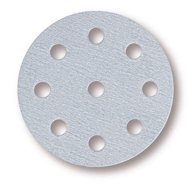 Mirka - Q.Silver Klettscheiben 125 mm 9-fach gelocht Körnung wählbar