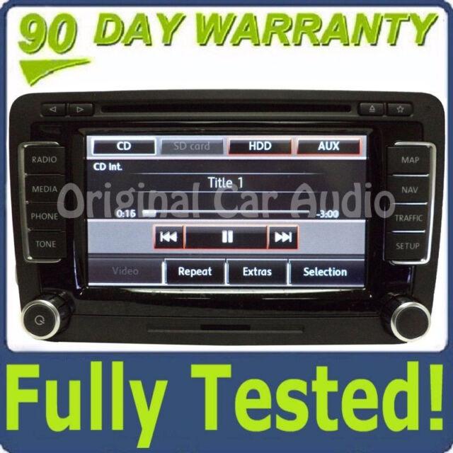 VW Volkswagen Navigation GPS Touch screen radio display CD Player RNS-510  OEM
