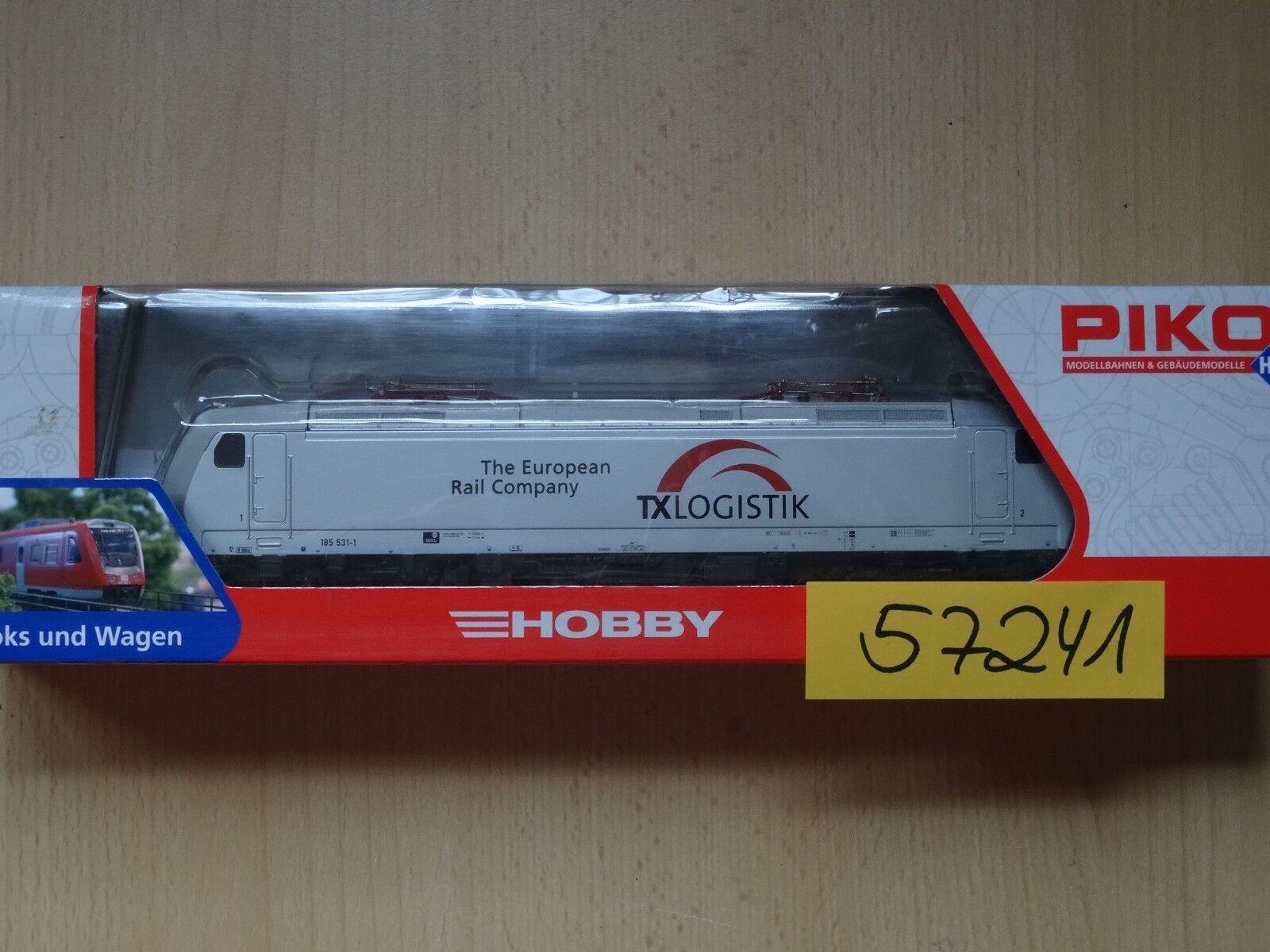 Piko ho Art 57241 e-Lok br 185 para analógico y digital mercancía nueva embalaje original