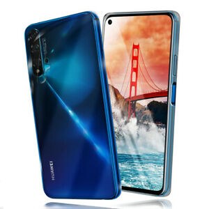 Silicone-Case-for-Huawei-Nova-5T-Protective-Transparent-Thin-TPU-New-Back-Cover
