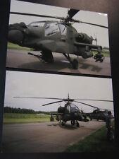 Photo McDonnell Douglas AH-64A Apache RNLAF Open Dag KLu Vlb Gilze-Rijen 1997 2x