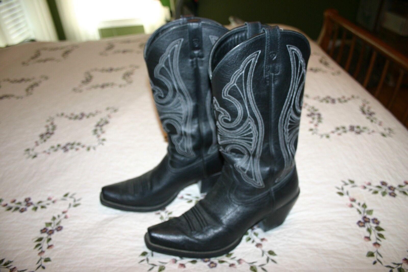 Damenschuhe Ariat 10011952 Round Up D Toe Leder Cowboy Stiefel Gre 8.5B