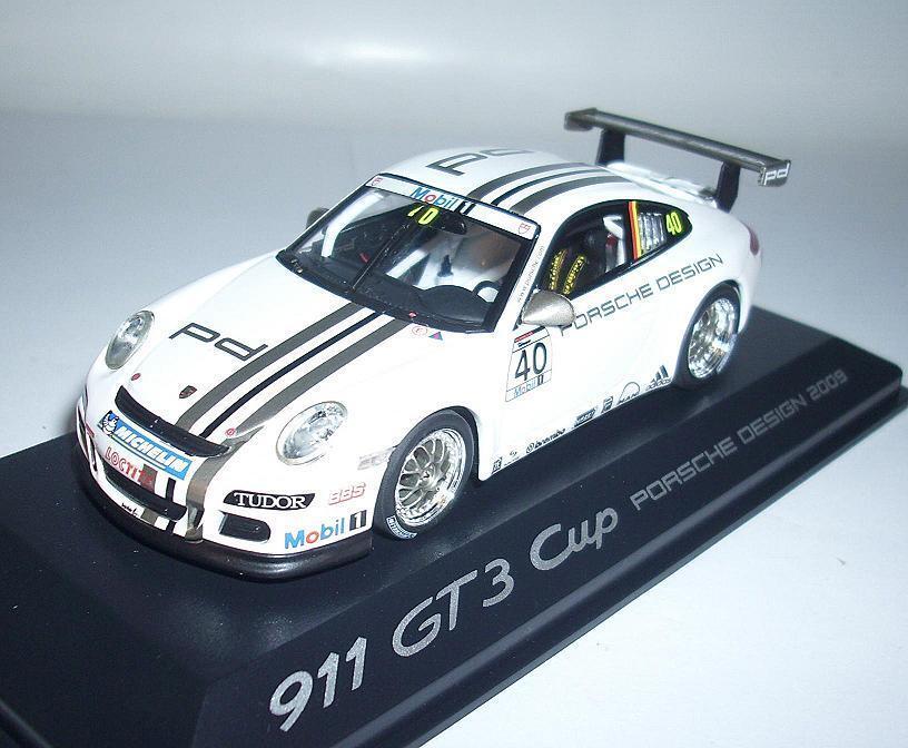 Minichamps  PORSCHE 911 gt3 (2009) Sachs no. 231 333  7661